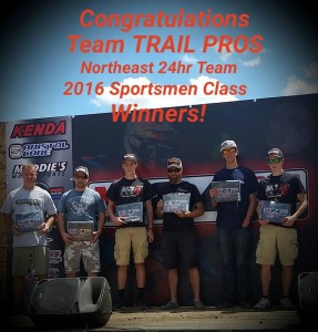 2016 Team TRAIL PROS: Billy Schlag, Duane Conner, Conner Keegan, Tim Nienow, Teagan Temple and Colin Keegan